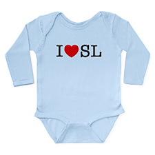 St Louis Long Sleeve Infant Bodysuit