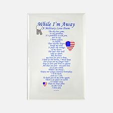 Military Love Poem Rectangle Magnet