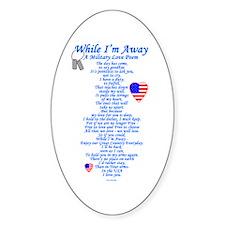 Military Love Poem Decal