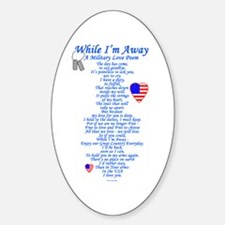 Military Love Poem Decal
