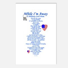 Military Love Poem Postcards (Package of 8)
