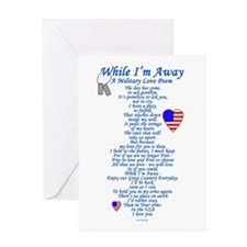 Military Love Poem Greeting Card