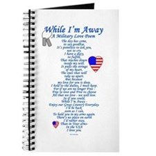 Military Love Poem Journal