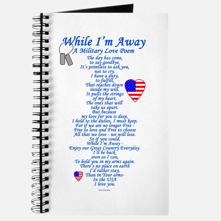 Military Love Poem Journal