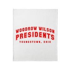 Wilson Presidents Throw Blanket