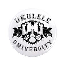 """Ukulele University 3.5"""" Button"""