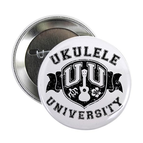 "Ukulele University 2.25"" Button"