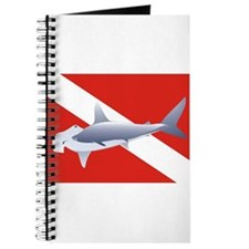 hammerhead on dive flag Journal