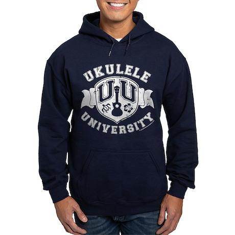 Ukulele University Hoodie (dark)
