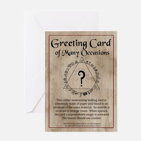 Greeting Card of Many Occasions (Single Card)