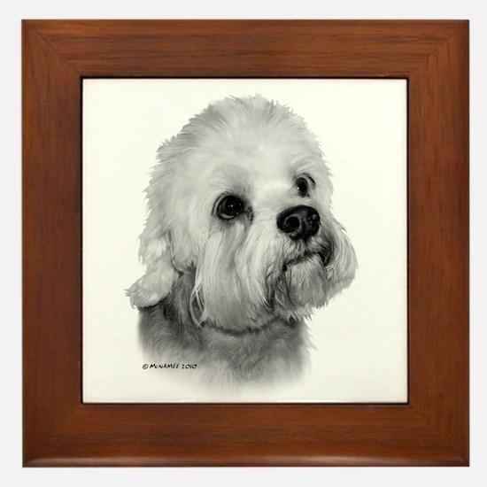 Dandie Dinmont Terrier Framed Tile