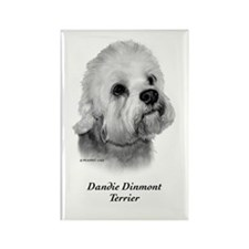 Dandie Dinmont Terrier Rectangle Magnet
