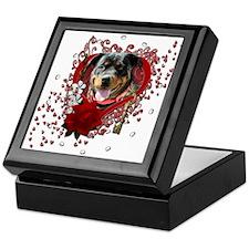 Valentines Key to My Heart Keepsake Box