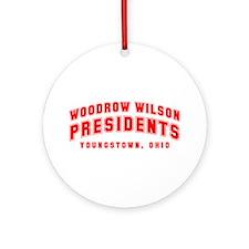 Wilson Presidents Ornament (Round)