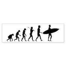Surf Evolve Bumper Sticker