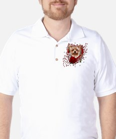 Valentines - Key to My Heart Golf Shirt