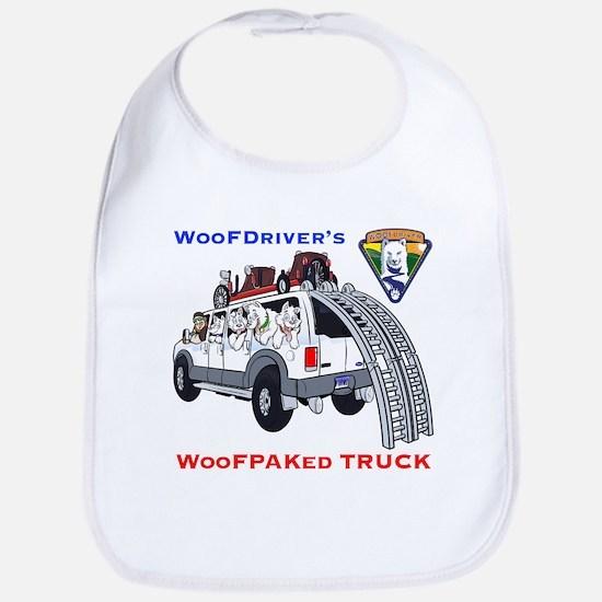 WooFPacked Truck Bib