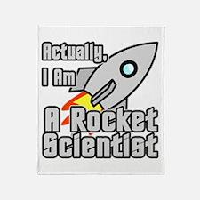 Rocket Scientist Throw Blanket