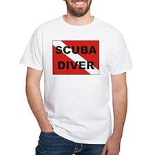 """Scuba Diver"" flag Shirt"
