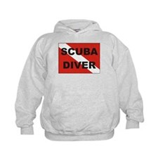"""Scuba Diver"" flag Hoodie"