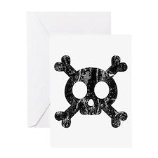 Skull & Crossbones Greeting Card