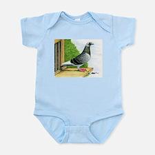 Racing Homer Pigeon Infant Bodysuit