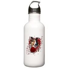 Valentines - Key to My Heart Sports Water Bottle
