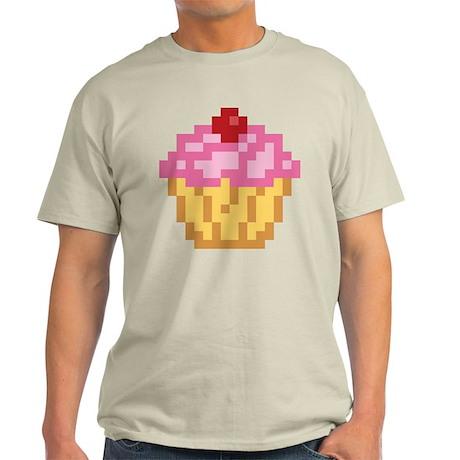 Pixel Cupcake Light T-Shirt
