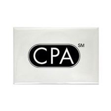 CPA Logo Rectangle Magnet (100 pack)