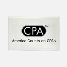 CPA Logo Rectangle Magnet