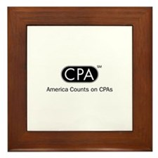 CPA Framed Tile