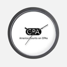 CPA Wall Clock