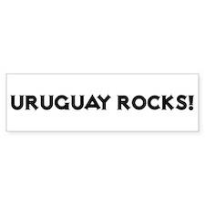 Uruguay Rocks! Bumper Bumper Sticker