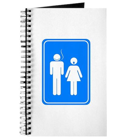 Bathrom Sign Humor Journal