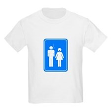 Bathrom Sign Humor T-Shirt
