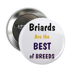 "Briard Best of Breeds 2.25"" Button (10 pack)"