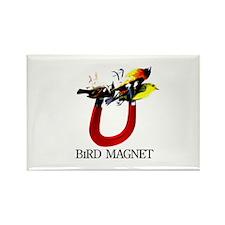 Bird Magnet Rectangle Magnet