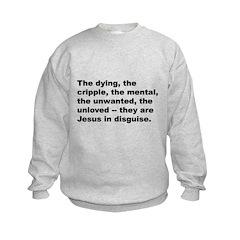 Quote (Front) Sweatshirt