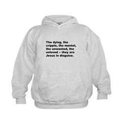 Quote (Front) Hoodie