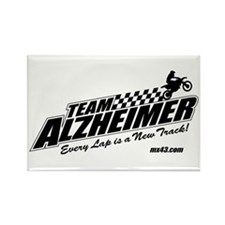 Team Alzheimer Rectangle Magnet