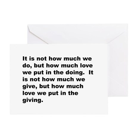 Quote Greeting Card