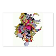 Native American Dancer Postcards (Package of 8)