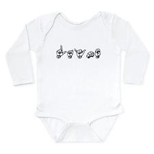 Layne Long Sleeve Infant Bodysuit