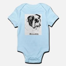 Bulldog Breed Infant Creeper