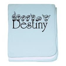 Destiny baby blanket