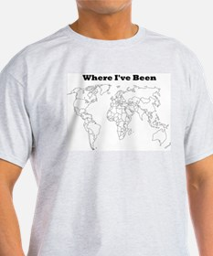 Where I've Been T-Shirt