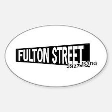 Fulton Street Sticker (Oval)