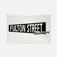 Fulton Street Rectangle Magnet