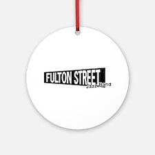 Fulton Street Ornament (Round)