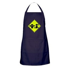 No Talking Zone! Apron (dark)